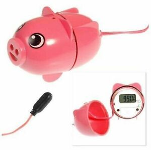 Sally the Safety Pig Water Temperature Warning Device