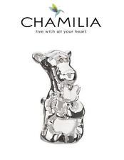 BNIB Genuine CHAMILIA 925 sterling silver Disney TIGGER charm bead, retired