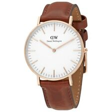 NEW DANIEL WELLINGTON DW00100035 CLASSIC ST MAWES WATCH 36MM - 2 YEAR WARRANTY
