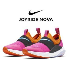 Nike Joyride Nova Big Kids Slip-On Sneakers Tennis Shoe Pink Laser Fuchsia 7 7Y