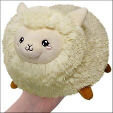 "SQUISHABLE Mini Plush Alpaca 7"" round stuff animal Amazingly soft NEW in Pkg"