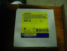 NIB Square D S432575 External Neutral Current Transformer  600A - 60 day wnty