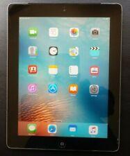 Apple iPad 2 A1396 MC993LL/A 32GB Black Unlocked With Original Box