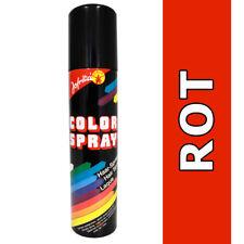 Spray per Capelli Rosso Interieor Colorspray Haarcoloration Colore Carnevale 0d7e869fd774