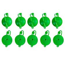 10pc Plant Support Yoyo with Plastic Stopper Adjustable Branch Support - Green