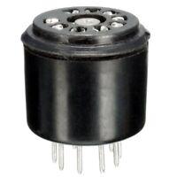 4x 9Pin Bakelite Vacuum Tube Socket Saver base For 12AX7 12AU7 ECC82 ECC83 E6K3