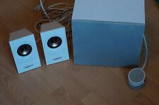 Logitech Z533 60W 2.1-Lautsprechersystem - weiß, ohne OVP