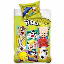Official Loony Tunes Single Duvet Cover Set European Cotton Tweety Bugs Bunny