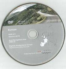 ORIGINALE AUDI RNS-E 2004-2009 Disco di navigazione DVD NAVIGATORE SATELLITARE MAPPA 2015 Regno Unito BEL fra SP