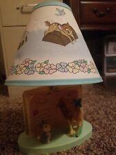 Bambi Lamp Baby Room Decor Nursery Vtg
