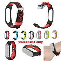 Replacement Silicone Wrist Watchband Strap Bracelet HD Film For Xiaomi Mi Band 3