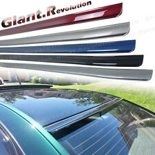 PAINTED R Type Rear Window Visor PU Spoiler For 09-14 Nissan Maxima A35 Sedan 4D