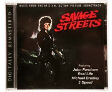 SAVAGE STREETS Soundtrack CD John Farnham, Real Life, Little River band, 3 Speed