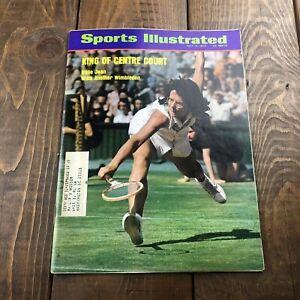 Billie Jean King Wimbledon Win 1973 Sports Illustrated Magazine TENNIS - ADS