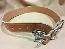 Collar de Perros en Cuero de Gran Resistencia | Piel Legítima | 3,5 cm x 70 cm