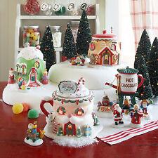 Dept 56 North Pole Village Series Santas Hot Cocoa Cafe 4020207 NIB Department