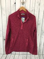 NWT Avalanche Loma Snap Pullover Jacket Women's Size Large Rogue Red J2