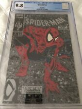 Spider-Man #1 (1990) CGC 9.8 WHITE pages SILVER EDITION Todd McFarlane