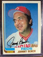 Johnny Bench Baseball Card #400 Topps Cincinnati Reds MLB HOF Free Ship NM-MT