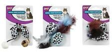 Spot Animal Print Rattle Cat Toy with Catnip 2 pk Random Styles