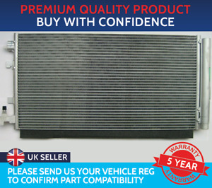 CONDENSER AIR CON RADIATOR TO FIT RENAULT FLUENCE MEGANE MK3 SCENIC MK3