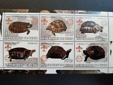 T21 Bloc feuillet BENIN TORTUES TURTLES (SCOUTISME) MNH