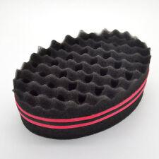 Double Sides Barber Hair Sponge Twist Wave Locks Dreadlocks Curl Brush Hard Top