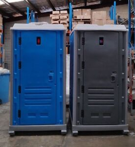 Porta Loo Builder Toilet Connect to Sewer line Single Skin with Lift Hooks Perth