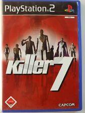 PLAYSTATION PS2 JEU Killer 7 USK18, utilisé mais BIEN
