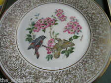 "Edward Marshal Boehm bird plate ""American Redstart"" by Lenox, Nib, with certs"