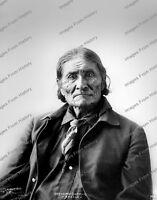 8x10 Print Native Americans Apache Indian Geronimo 1898 Omaha Nebraska #7039GER