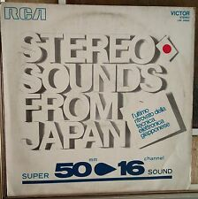 Library=Sadakazu Tabata Stereo Sounds From Japan Super 50mm / 16 Canali Lp 1970