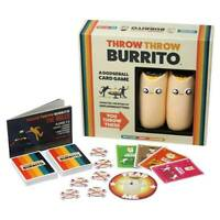 Throw Burrito A Dodge Ball Card Game Original Edition Party Family Gifts Game