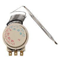 Congelateur -30 ~ + 30 Celsius AC 250 V 16A AC380V Thermostat capillaire de M4X9