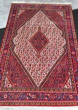 Tapis Persan jozan carpet Noué Fait main teppich rugs alfombra tappeto 205x133cm