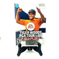 EA Sports Tiger Woods PGA Tour 09 All-Play Complete CIB Game Case Manual Good