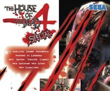 House Of The Dead 4 Special Arcade Flyer Zombie Horror Halloween Art Game Sheet