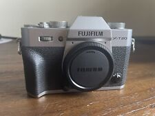 Fuji Fujifilm X-T20 24.3MP Mirrorless Digital Camera Body with box, battery, etc