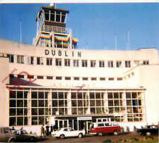 Picture Postcard:-DUBLIN AIRPORT, 1971 (BAD SCAN)