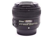 Nikon 50mm F/1.8g AF-S Nikkor objetivo para NIKON CÁMARAS DSLR