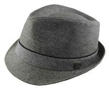 Gray Fedora Hat Cap 2xl 62cm