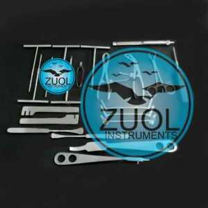 Small Fragment set of 24 PCs Orthopedic Surgical Instruments By Zuol
