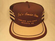 VINTAGE HAT Mens Cap JOY'S (Auto) SERVICE CENTER Wichita, Kansas [Z5c]