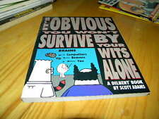 Dilbert by Scott Adams You Won't Survive By Your Wits Alone Pb Comic Strip Book