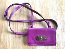Mulberry Bayswater Mini Messenger Black Patent Excellent Condition