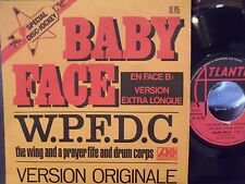 45$ FRENCH IMPORT PICTURE SLEEVE BABY FACE WING AND A PRAYER ON ATLANTIC RECORDS