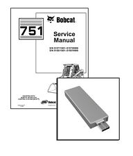 Bobcat 751 Skid Steer Loader Workshop Service Repair Manual on USB Stick
