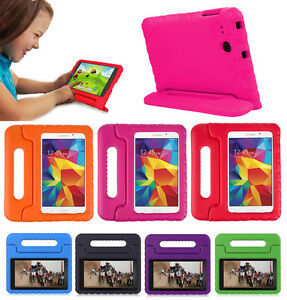 Safe Kids Handle Shock Proof Heavy Duty Cover Case For Samsung Galaxy Tab E 8.0