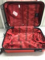 Hard Shell Suitcase 4 Wheel Travel Luggage Trolley Lightweight BLUE STAR PARIS