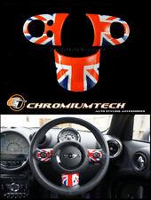 MINI R55 R56 R57 R58 R59 R60 R61 Union Jack Multi Function Steering Wheel Cover